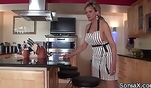 Adulterous british mature lady sonia shows off her large jugs