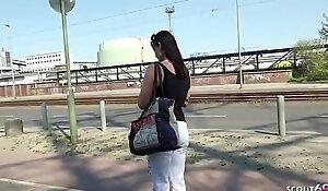 German Scout Mature Julia Seduce Anal At Street Casting