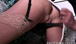 Bound Gagged and fucked MILF boss tied and fucked by the help #bondage  #mature