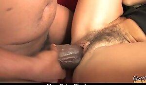 Hot Milf takes on 12 cringe Huge Creature Black Cock 1