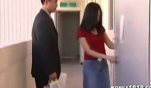 Hawt Korean Office Lady Fucked