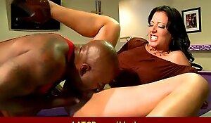 Interracial hard sex Oversexed MILF beauty gets hard big black cock 39