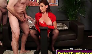 Mature cumbucket defiance