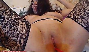 BBW mature masturbate solo on webcam babes666cams.xyz